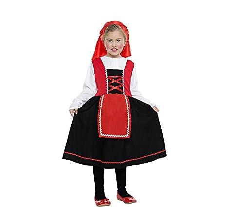 Car&Gus Disfraz de Pastorcita con Falda Negra para niña: Amazon.es ...