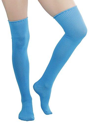 有毒盲目スローToBeInStyle SOCKSHOSIERY レディース US サイズ: One Size カラー: ブルー