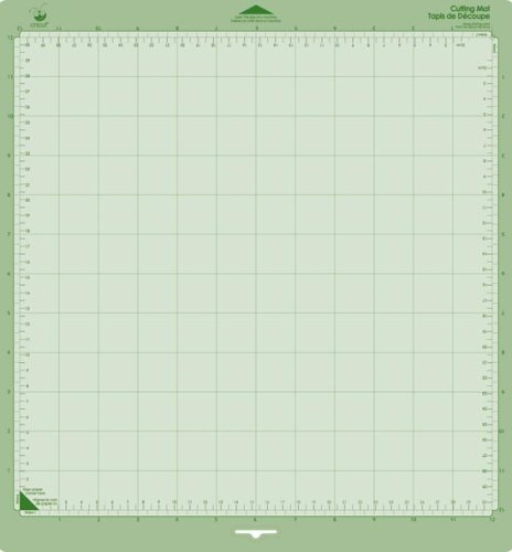 Cricut 29-0386 12-by-12-Inch Tacky Cutting Mats with Measurement Grids, Set of 2 ()