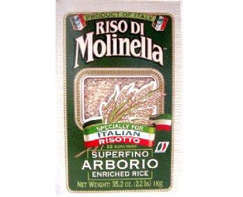 Molinella Rice Arborio, 16 oz