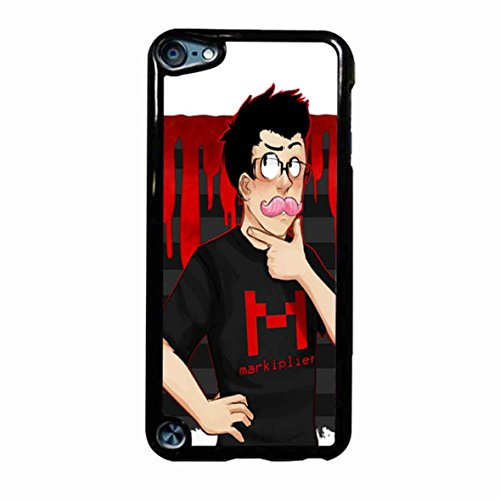 Markiplier Design 8 Case / Color White Plastic / Device iPod Touch 5