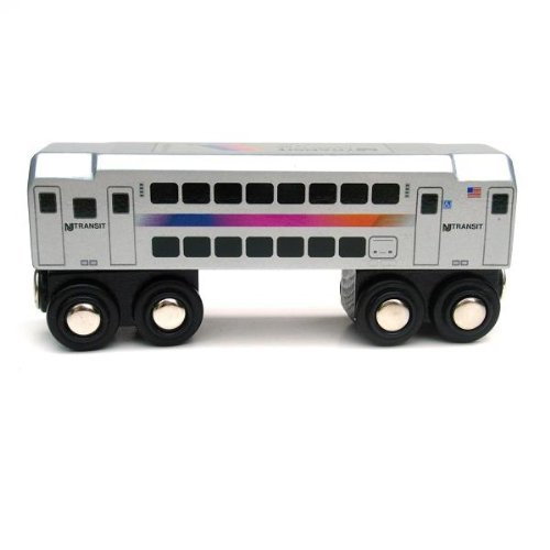 Wooden Toy Train Plans (NJ Transit Multi-Level Commuter Passenger Car)