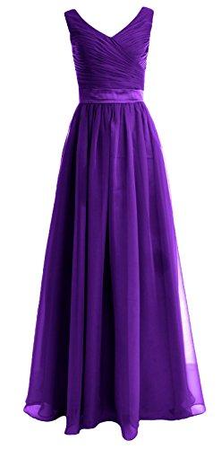 MACloth - Robe - Femme violet violet 50