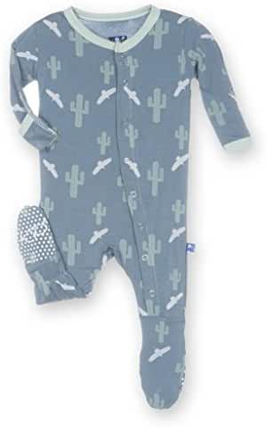 KicKee Pants Little Baby Girls' Footie