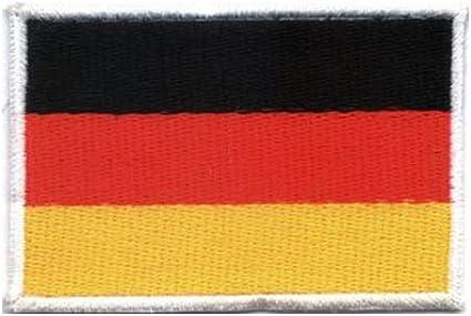 Parche / parche para coser con la bandera de Alemania.: Amazon.es ...