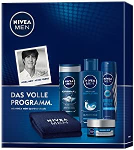 Nivea Men Set de regalo original y toalla de playa libre, para los ...