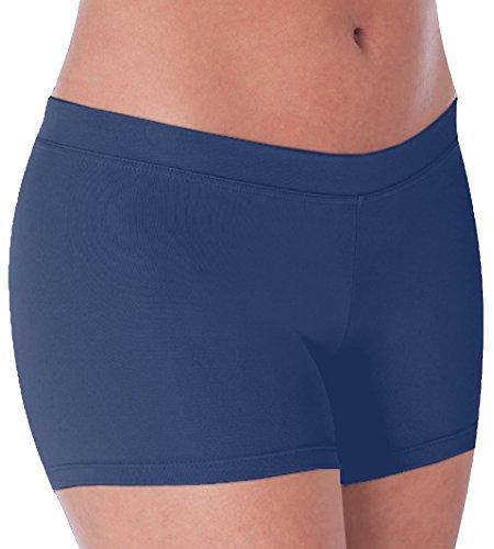 Body Wrappers Womens BOY-CUT BRIEF 281 -NAVY XL ()