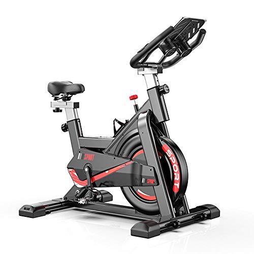🥇 Divgdovg Bicicleta Estática para El Hogar Bicicleta de Spinning. Bicicleta Estática Vertical conPantalla LCD