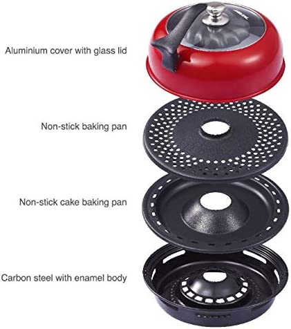 Wonderchef Gas Oven Tandoor By Master Chef Sanjeev Kapoor Easily Cook Indian Dishes with 3D Heating System