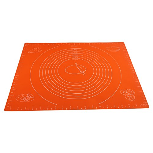 FATCHOI-Silicone-Baking-Mat-for-Dough-Rolling-with-Measurements-14x17Inch-Non-StickNon-SlipPizzaBreadsLasagnaand-other-Recipes-Desserts