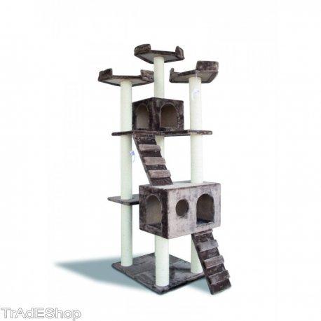 Trade Shop traesiotiragraffi para Gatos Peluca, cucce, scalette, estantes y columnas de Sisal: Amazon.es: Productos para mascotas