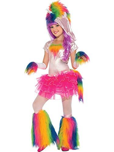 Rainbow Unicorn Tutu Costume, Large -