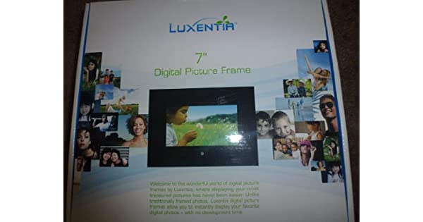 luxentia 17,8 cm Digital Picture Frame: Amazon.com.mx: Electrónicos
