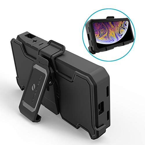 iPhone Xs Max Belt Clip, ZeroLemon iPhone Xs Max Belt Clip Holster ZeroLemon iPhone Xs Max 8000mAh Battery Case (Battery Case is not Included)