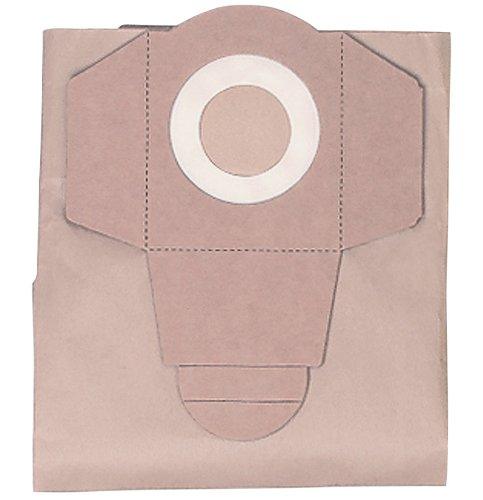 Einhell Wet and Dry Vac Bags to Fit BT-VC 1250S/ INOX 1250S (Pack of 5) Einhell UK Einhell Vac Bags