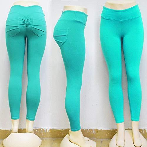 Fitness Survêtement Casual Pantalons Stretch Pantalon Maigre Décontracté Mesdames Battercake De Imprimé Élastique Dame Mode Crayon Blau Taille Workout wZFx6Xdqp