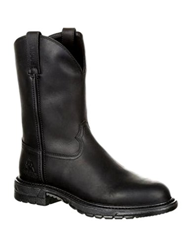 Rocky Western Boots Mens Original Ride Flex 11 M Black Oil RKW0231