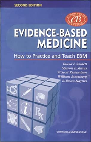 Evidence based medicine how to practice and teach ebm pdf