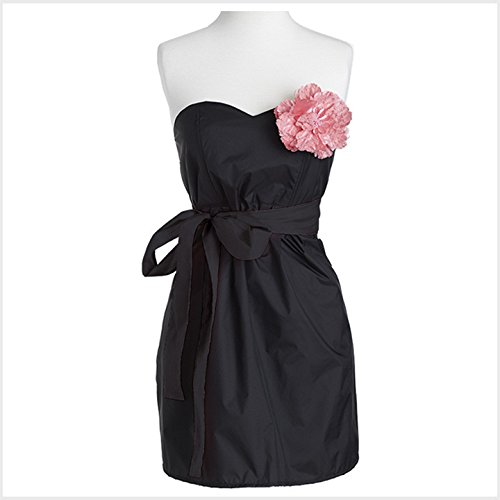 Jessie Steele Salon Strapless Apron Black with Pink Trims (Jessie Steele Salon Apron compare prices)