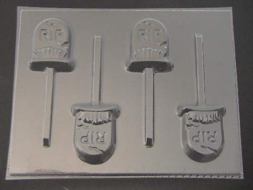 (Tombstone Chocolate Candy Lollipop Mold)