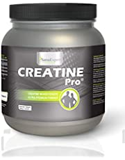 SanaExpert Creatine Pro (Creapure), sports drink for 215 servings, 100% creatine monohydrate, creatine powder, highly soluble, climate neutral, 650 g (1)