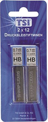 24 Pencil Mines HB/0.7 mm X 60 mm