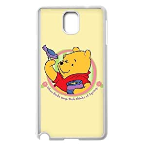 Samsung Galaxy Note 3 White phone case Winnie the Pooh YVD8898128