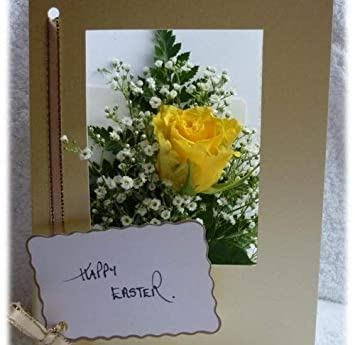 Flowers Delivered Yellow Rose Card Fresh Flower By Post Direct