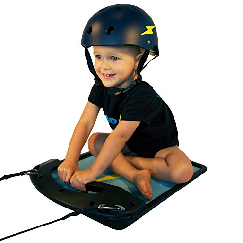 Rad Dad Baby Board | Toddler Ride-On Pull Toy for Kids 9+ Months, Helps Develop Motor Skills and Balance, by Dad Powered