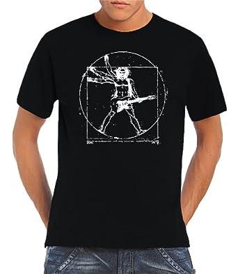 Touchlines T-shirt Da Vinci Rock Guitar pour homme  Amazon.fr ... cbf137e7ed6