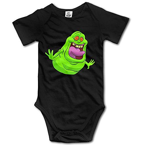 Ghostbusters Slimer Logo Baby Onesie Baby -