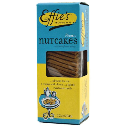 Homemade Biscotti (Effies Homemade Nutcakes, 7.2 Ounce Bag, Pack of 3)