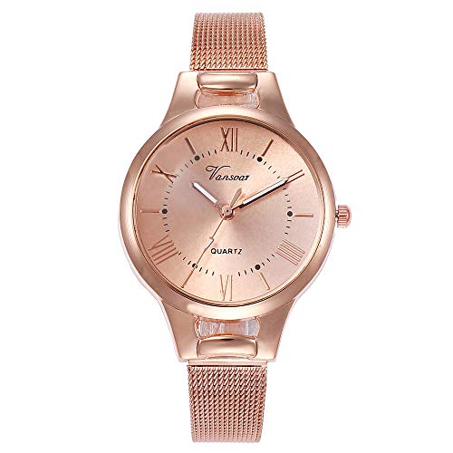 Womens Watch Diamonds 20 (Women Quartz Watches,Fudule Analog Wrist Watches for Women Rose Gold Watch with Stainless Steel Band Ladies Dress Watch Clearance)