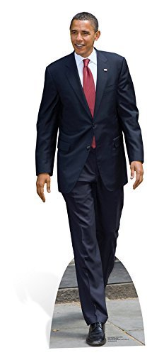 Star Cutouts Ltd Life Size Cardboard Standee of President Obama by Star Cutouts Ltd by Star Cutouts Ltd
