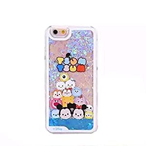 Liquid Case for iPhone 6 Plus,Case for iPhone 6 Plus,Hard Case for iPhone 6 Plus,RASK Fashion Creative Cartoon Design Flowing Liquid Floating Cute Bling Glitter Sparkle Hard Case for Apple iPhone 6 Plus with 5.5 inch #1
