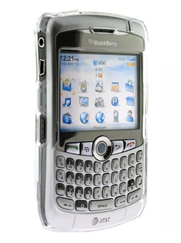 - A1-Tech Proguard Crystal Snap On Hard Shell Case For Blackberry 8300 8310 8320
