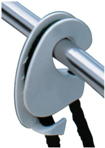 - Taylor Made Products 1108 Boat Fender Hanger (Clip Rail Mount, Up to 1-Inch Rails)