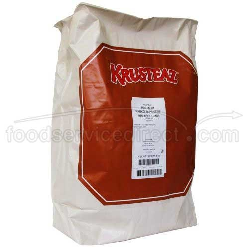 Krusteaz Premium Panko Japanese Coarse Breadcrumb, 25 Pound -- 1 each. by Krusteaz