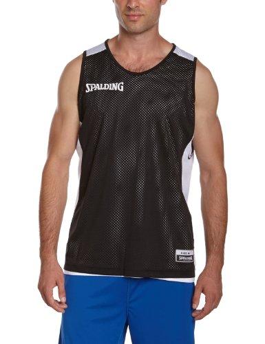 Spalding Teamtrikots & Sets Essential Reversible Shirt, schwarz/weiß, L, 300201402