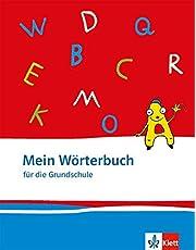 Mein Wörterbuch: Klasse 1-4