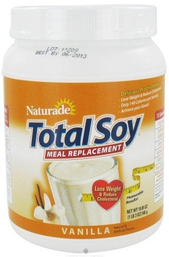 Naturade - Total farine de soja remplacement Vanille - £ 1