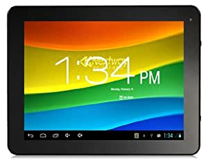 """NewPad M99 9.7"""" Android 4.1.1 ATM7029 Quad-core 1.2GHz Tablet PC with Wi-Fi, Auto Screenshot, PIP, 5-point GG Capacitive Touch (16G) (Black)"""