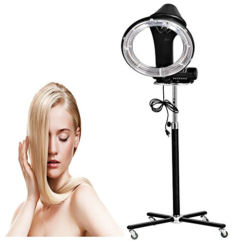 110V Professional Stand Hair Dry Roller Dryer, Heater Perm Color Treatment Processor, Salon Equipment for Barber Hairdresser (900W) by Rapesee (Image #7)