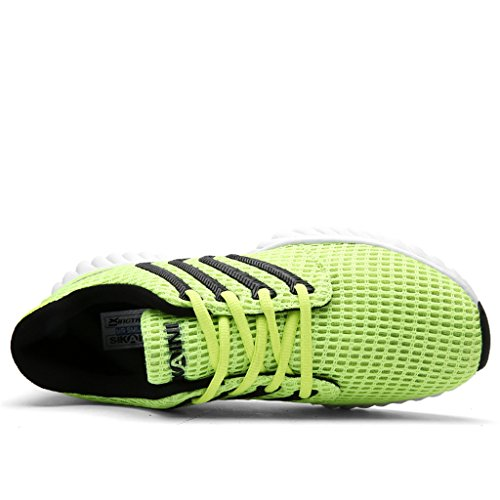 Running for Green Men Breathable Shoes Shoes Casual Sports Outdoor Mesh Sport rTxqf6Cwr