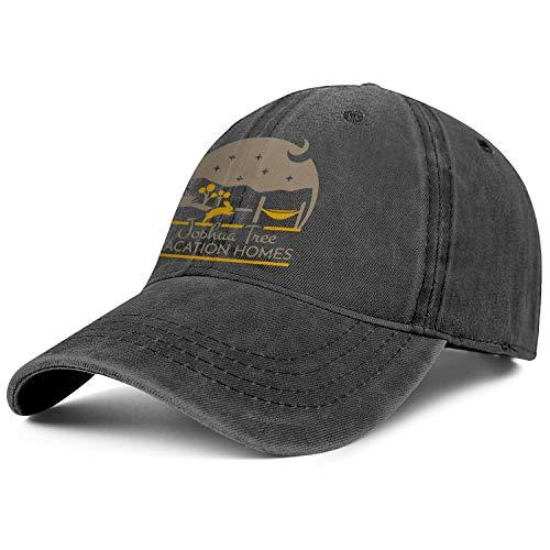 SHUOBU4SW Unisex Men Adjustable Joshua Tree Vacation Homes Baseball Caps Cool Strap Hat