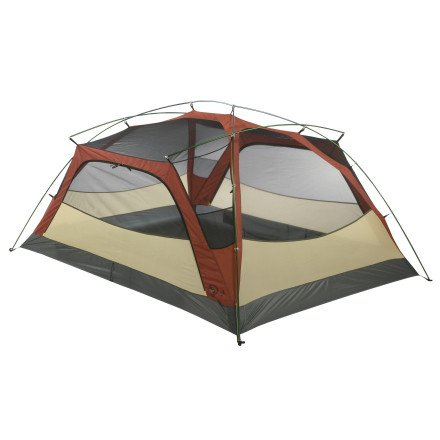 Big Agnes Slide Mountain SL3 Super Light Tent: 3-Person 3-Season Terra Cotta/Cool Gray, One Size, Outdoor Stuffs