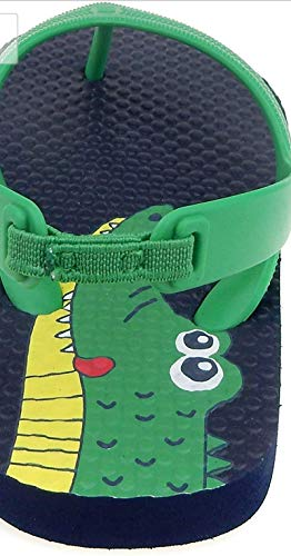 Pictures of Toddler Beach Flip FlopBoys Sandals Blue Green 2