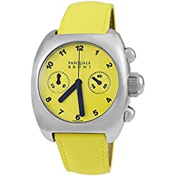 Pasquale Bruni Uomo Chronograph Stainless Steel Swiss Made Automatic Men's Watch 99MCAGG