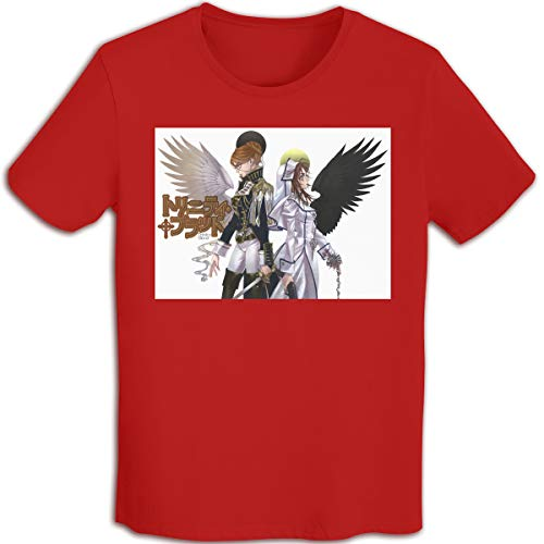 (allenshopping Trinity Blood Print T-Shirt for Boys and Girls Casual Unisex O-Neck Tee Tops Red1 M)