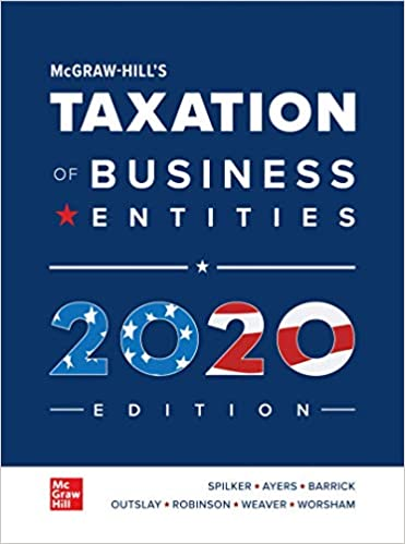 2020 New Tax Laws.Mcgraw Hill S Taxation Of Business Entities 2020 Edition